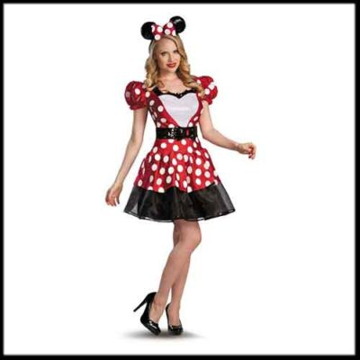 Adult Minnie Mouse Costume Dress