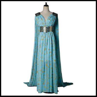 Deanery's Targaryen Halloween Costume – Blue