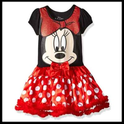 Minnie Mouse Costume for Kids Dress