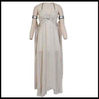 Deanery's Targaryen White Dress