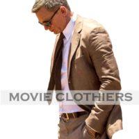 daniel craig brown suit spectre morocco brown suit