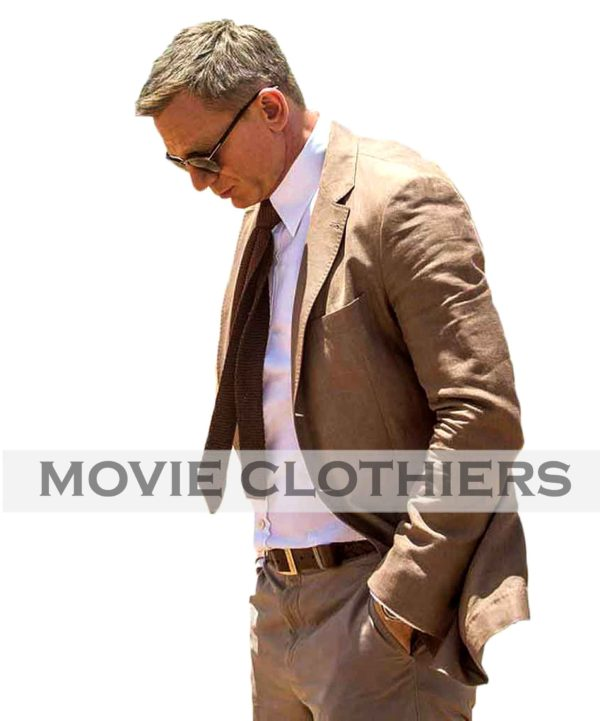 daniel craig brown suit spectre morocco brown suit