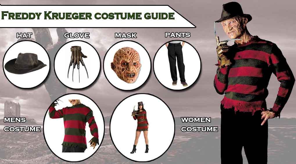 freddy krueger costume cosplay