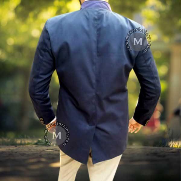 Blofeld Spectre blue coat