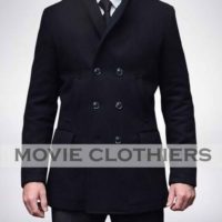 Daniel Craig James Bond Skyfall Peacoat
