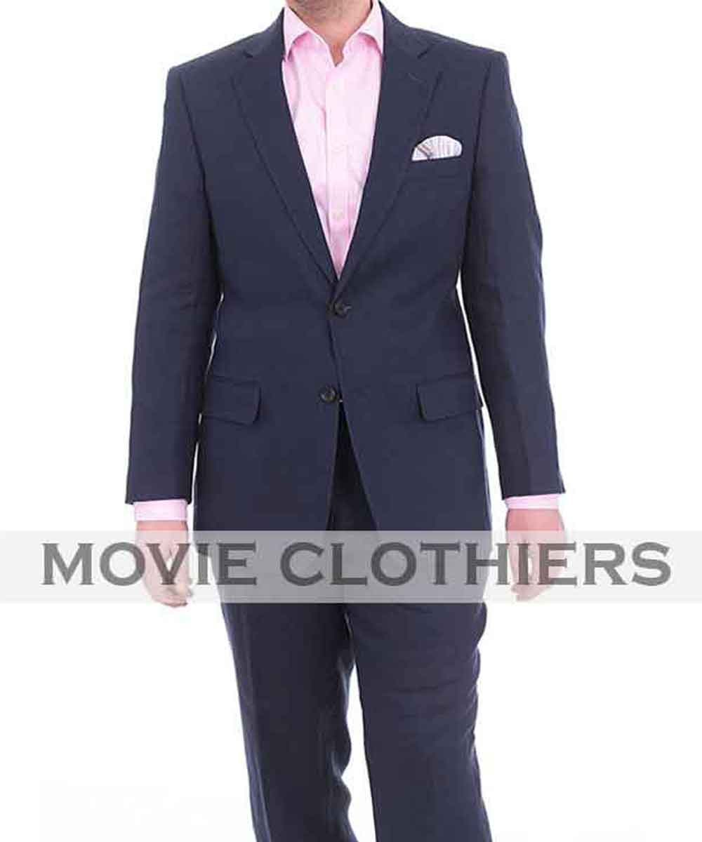 Casino Royale Navy Suit