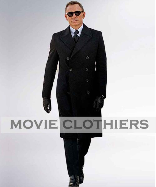 Daniel Craig james bond spectre coat funeral