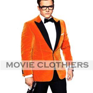 Kingsman 2 Taron Egerton Tuxedo