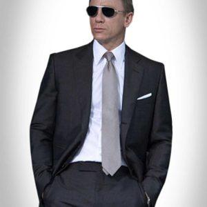 Quantum of Solace Charcoal Suit