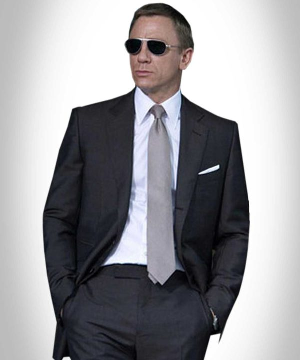 Quantum of Solace Charcoal Suit
