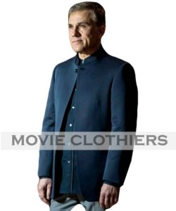 christoph waltz blofeld jacket spectre nehru jacket