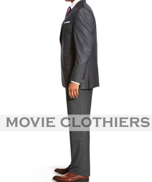 james bond 007 charcoal suit