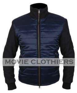 james bond blue spectre bomber jacket