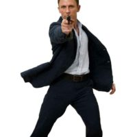 james bond casino royale suit navy linen casino royale gun barrel sequence