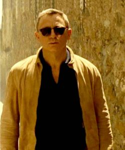 james bond spectre brown suede jacket