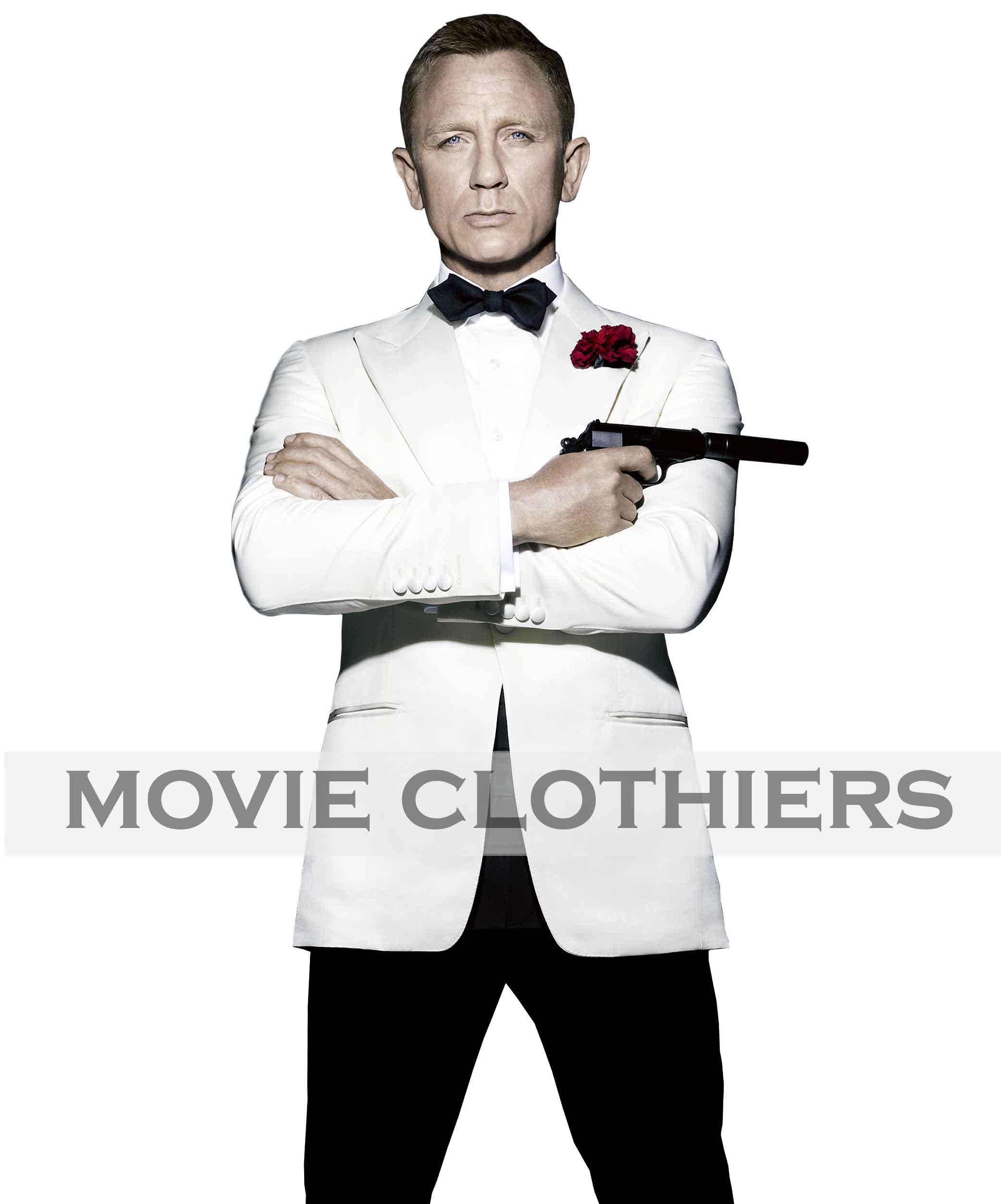 Daniel Craig White Tuxedo