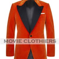 taron egerton kingsman orange jacket