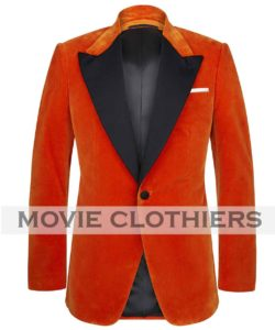 taron egerton kingsman orange jacket