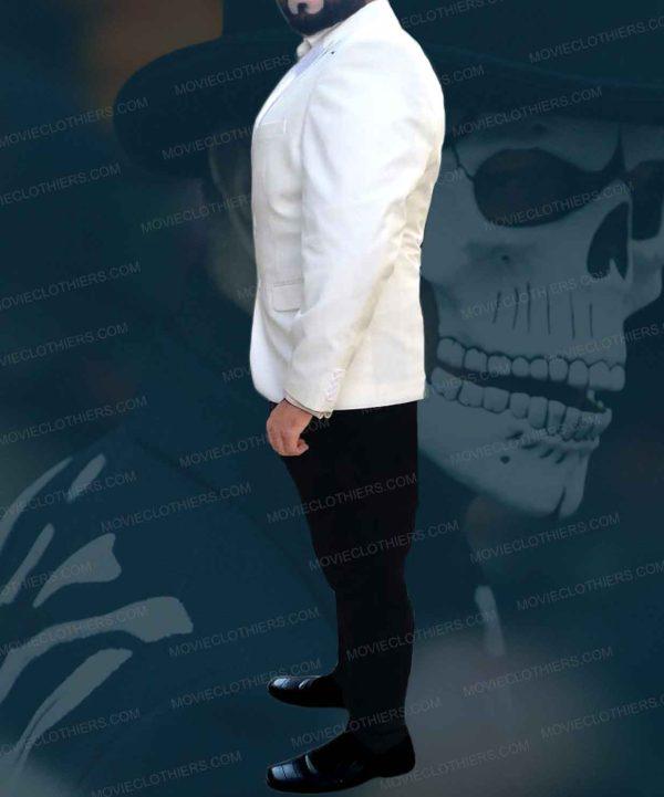 white dinner jacket spectre costume