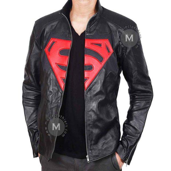 Black Superman Jacket For Sale