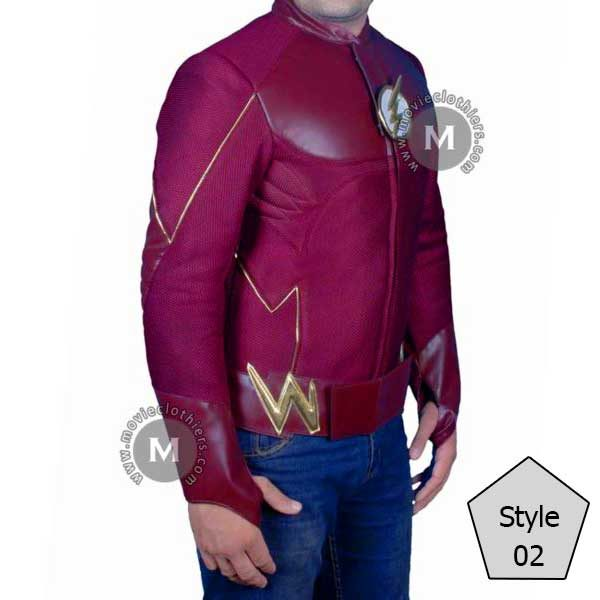 Flash leather jacket costume
