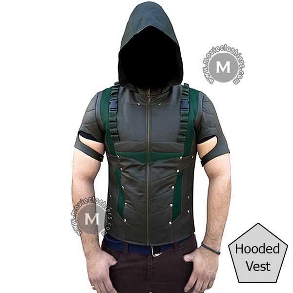 Green-arrow-costume-Vest