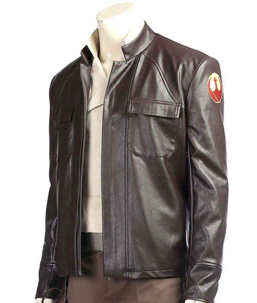Poe Dameron brown jacket