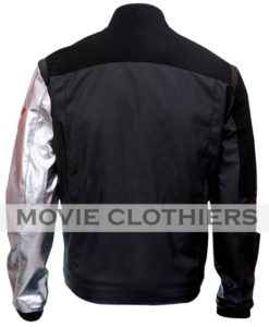 Sebastian Stan Winter Soldier civl war jacket