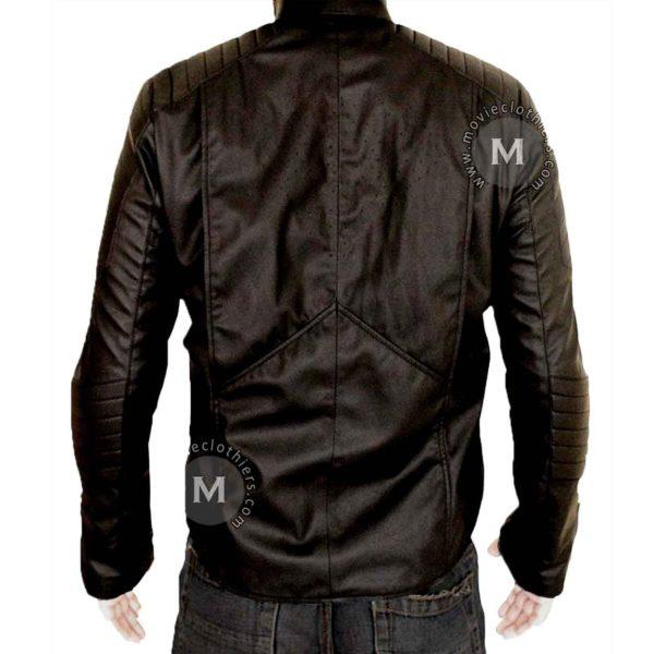 bat superman black jacket