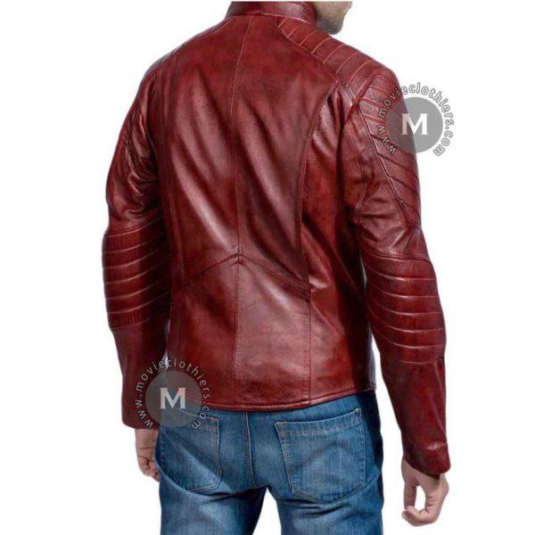 batman superman red jacket