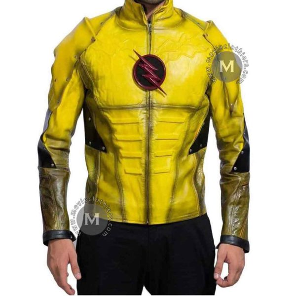 biker reverse flash motorcycle jacket