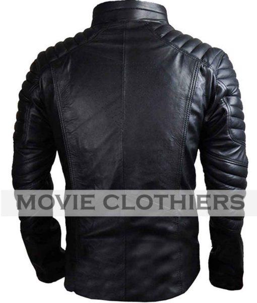 black clark kent jacket superman motorcycle jacket
