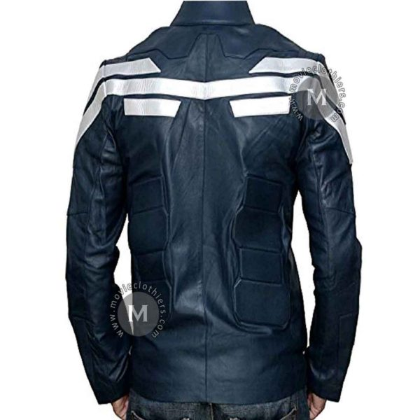 captain america biker jacket for sale