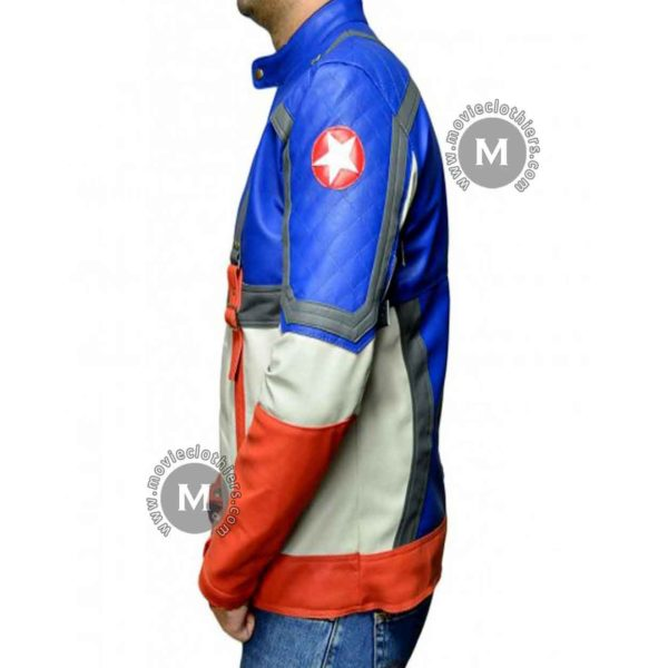 captain america costume jacket for sale