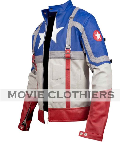 captain america the first avenger cosume jacket
