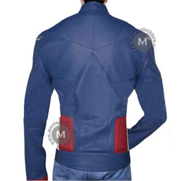 captain america uniform jacket