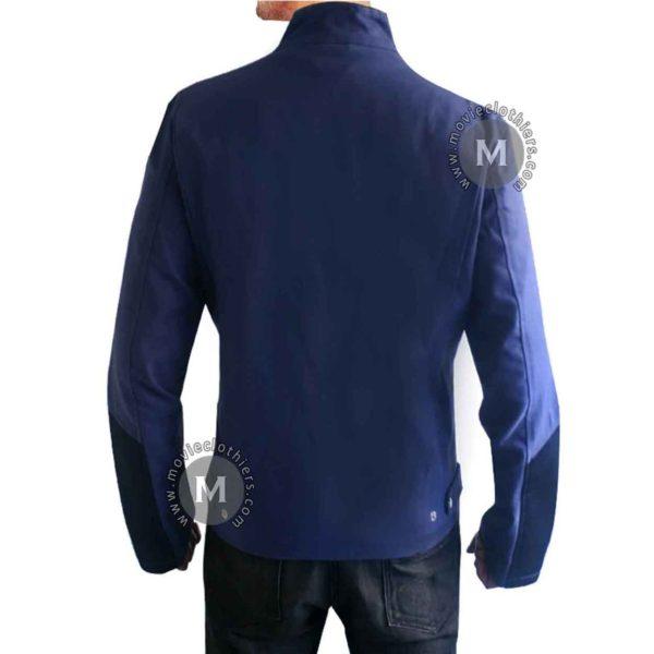 chris evans steve rogers blue jacket