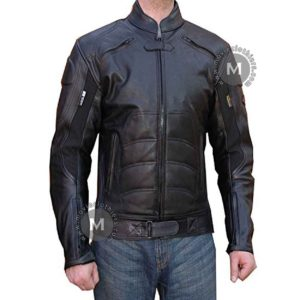 dc comics batman leather jacket