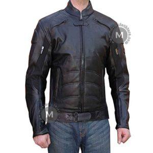 dc comics batman leather jacket