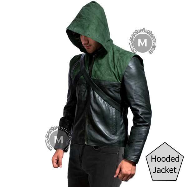 green-arrow-hooded-jacket