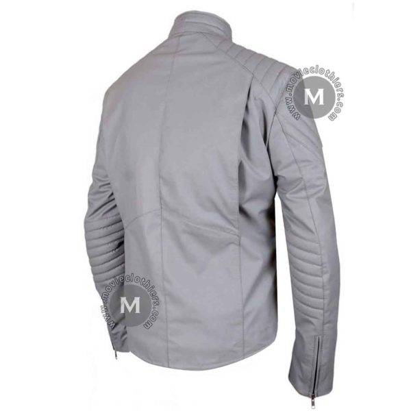 grey batman jacket