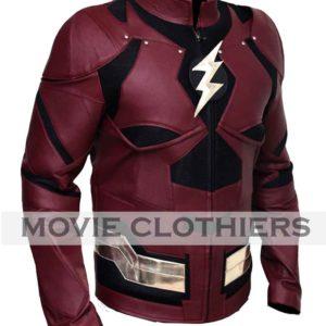 justice league flash costume jacket