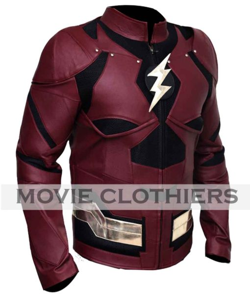 justice league flash costume jacket