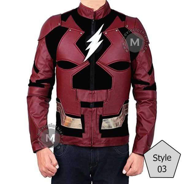justice league flash jacket