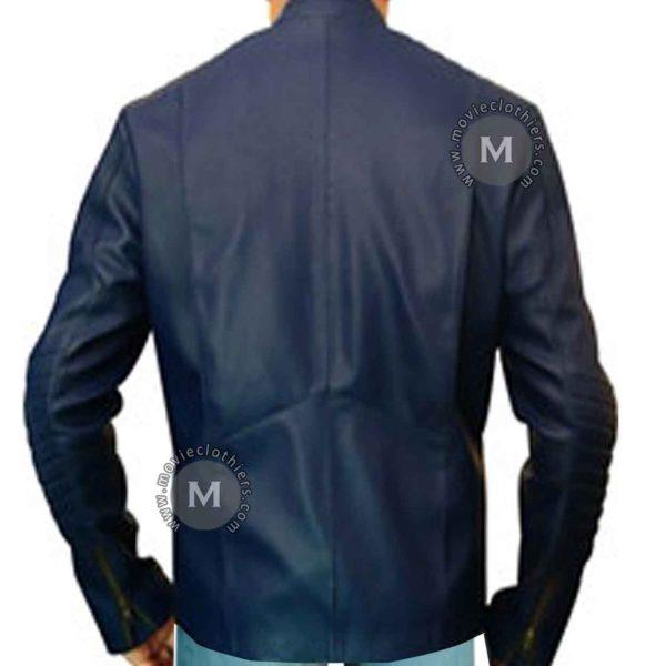 man of steel leather jacket