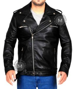 negan leather jacket the walking dead negan jacket