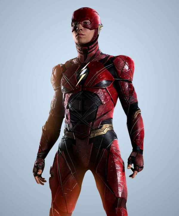 new flash costume justice league