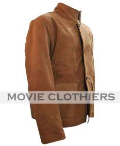 oliver queen brown jacket