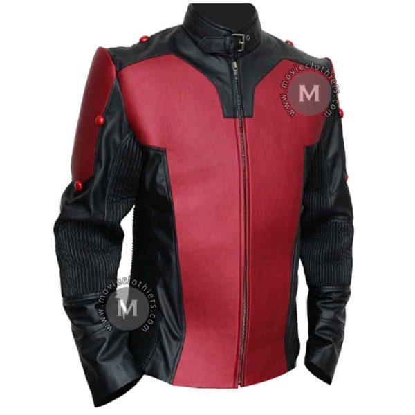 red antman jacket
