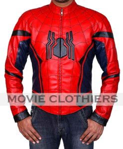 red spiderman homecoming jacket